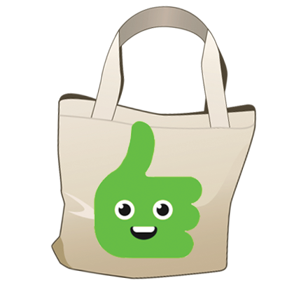 Thumbs-up for reusable bags